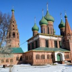 Church of Nikola Mokryi in Yaroslavl