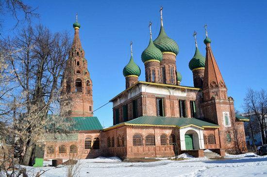 Church of St. Nicholas the Wet, Yaroslavl, Russia, photo 1