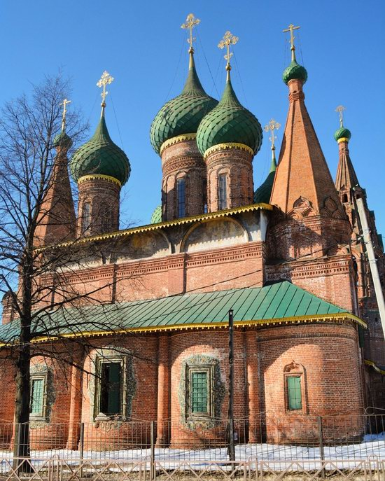 Church of St. Nicholas the Wet, Yaroslavl, Russia, photo 2