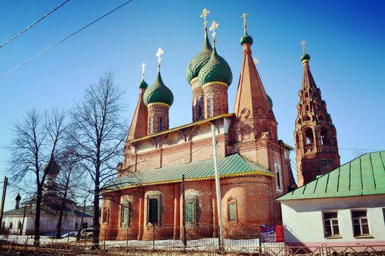 Church of St. Nicholas the Wet, Yaroslavl, Russia, photo 5
