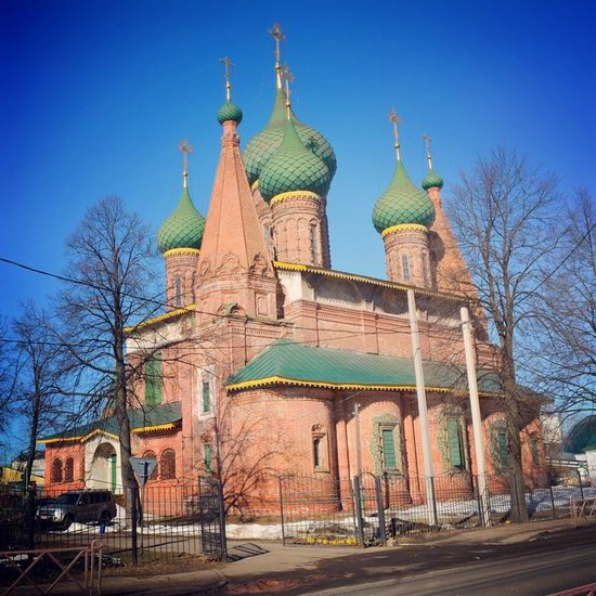 Church of St. Nicholas the Wet, Yaroslavl, Russia, photo 6