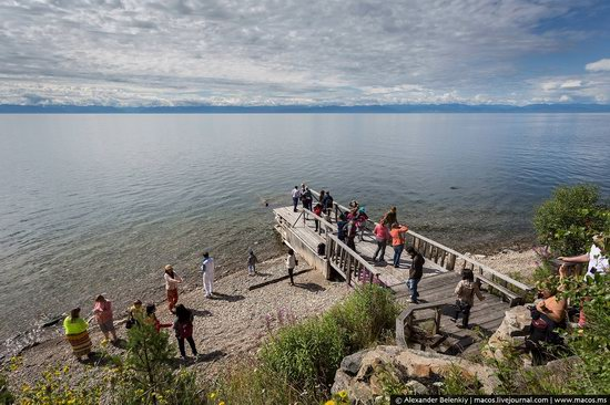 The train ride along Lake Baikal, Russia, photo 11