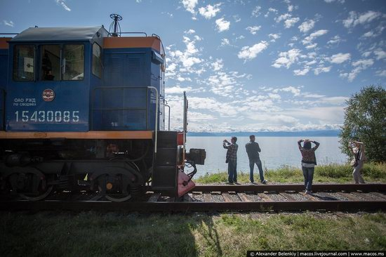The train ride along Lake Baikal, Russia, photo 12