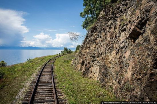 The train ride along Lake Baikal, Russia, photo 16