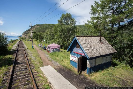 The train ride along Lake Baikal, Russia, photo 19