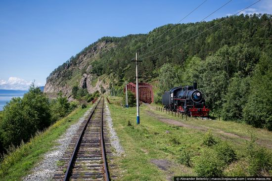 The train ride along Lake Baikal, Russia, photo 21
