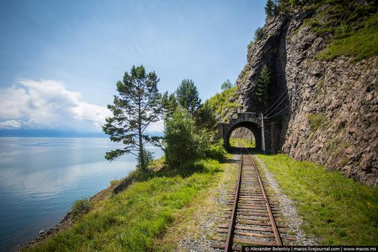 The train ride along Lake Baikal, Russia, photo 22