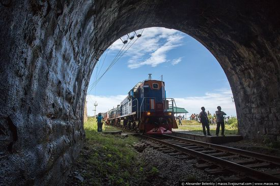 The train ride along Lake Baikal, Russia, photo 24
