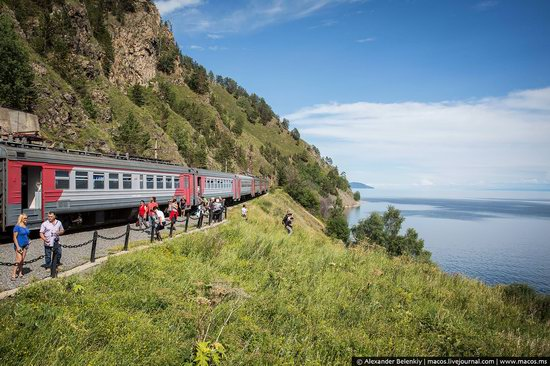 The train ride along Lake Baikal, Russia, photo 25