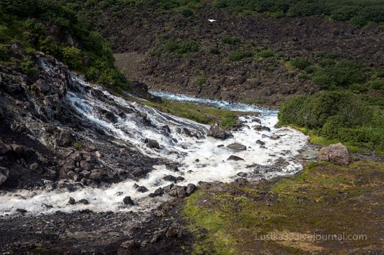 The white waterfalls of the southern Kamchatka, Russia, photo 10