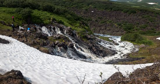 The white waterfalls of the southern Kamchatka, Russia, photo 11