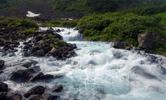 The white waterfalls of the southern Kamchatka, Russia, photo 13