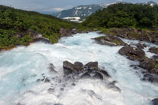 The white waterfalls of the southern Kamchatka, Russia, photo 14