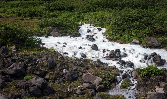 The white waterfalls of the southern Kamchatka, Russia, photo 15