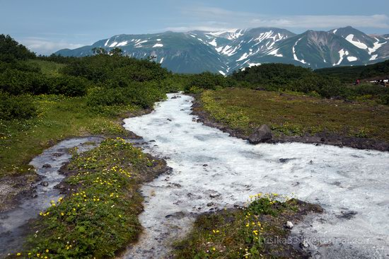 The white waterfalls of the southern Kamchatka, Russia, photo 19