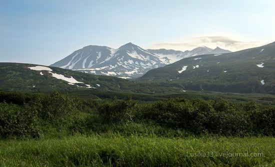 The white waterfalls of the southern Kamchatka, Russia, photo 20