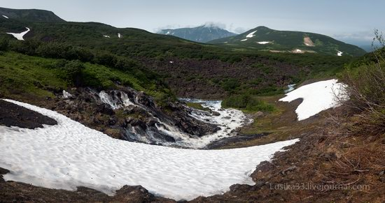 The white waterfalls of the southern Kamchatka, Russia, photo 6