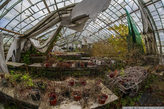Abandoned greenhouse complex near Moscow, Russia, photo 22
