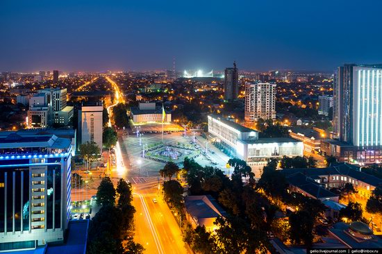 Krasnodar from above, Russia, photo 1