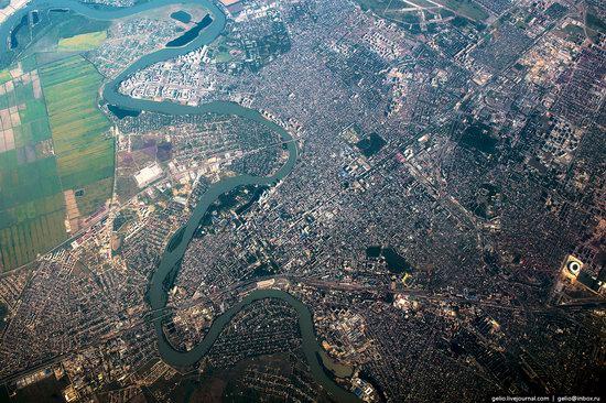 Krasnodar from above, Russia, photo 2