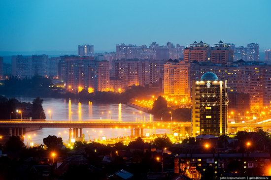 Krasnodar from above, Russia, photo 3
