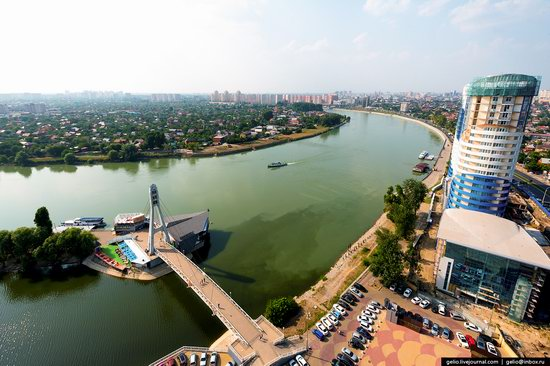 Krasnodar from above, Russia, photo 4