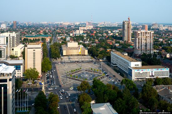 Krasnodar from above, Russia, photo 7