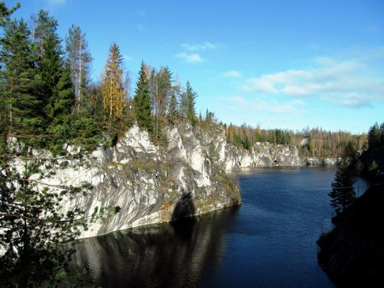 Ruskeala marble quarry, Karelia, Russia, photo 1