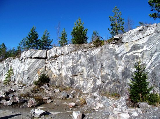 Ruskeala marble quarry, Karelia, Russia, photo 14