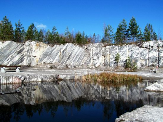 Ruskeala marble quarry, Karelia, Russia, photo 15