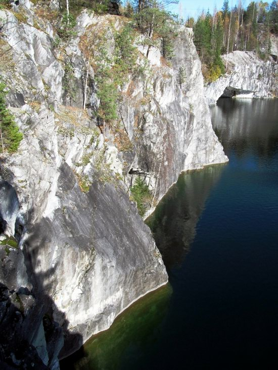 Ruskeala marble quarry, Karelia, Russia, photo 16