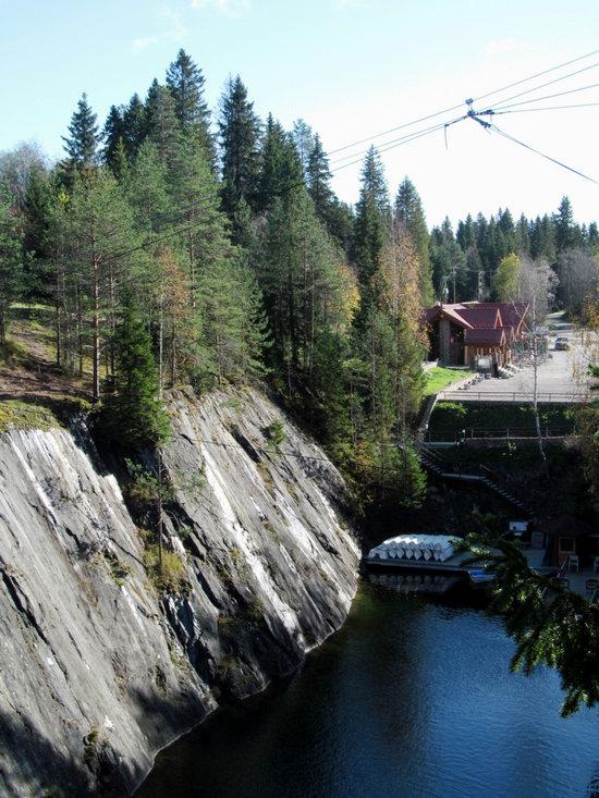 Ruskeala marble quarry, Karelia, Russia, photo 17