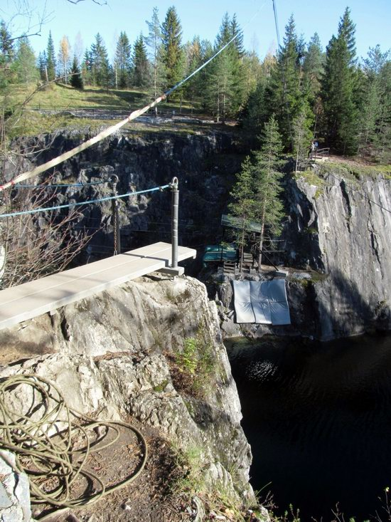 Ruskeala marble quarry, Karelia, Russia, photo 18