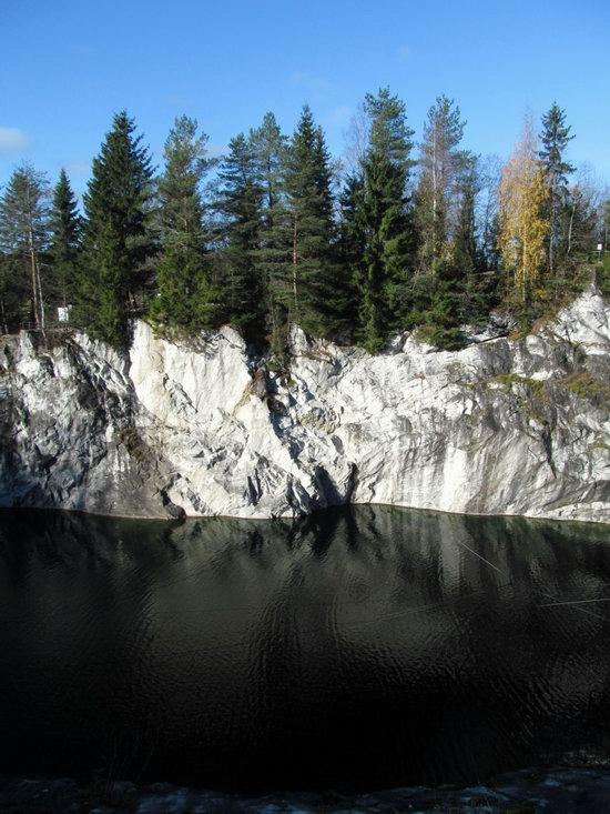 Ruskeala marble quarry, Karelia, Russia, photo 2