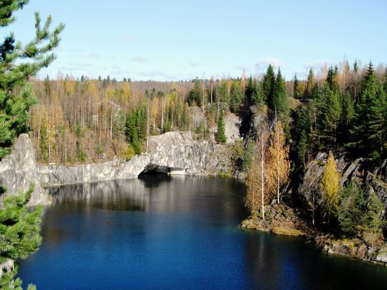 Ruskeala marble quarry, Karelia, Russia, photo 22