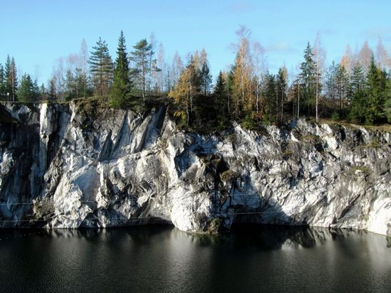 Ruskeala marble quarry, Karelia, Russia, photo 5