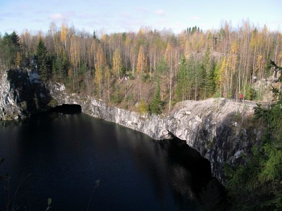 Ruskeala marble quarry, Karelia, Russia, photo 6