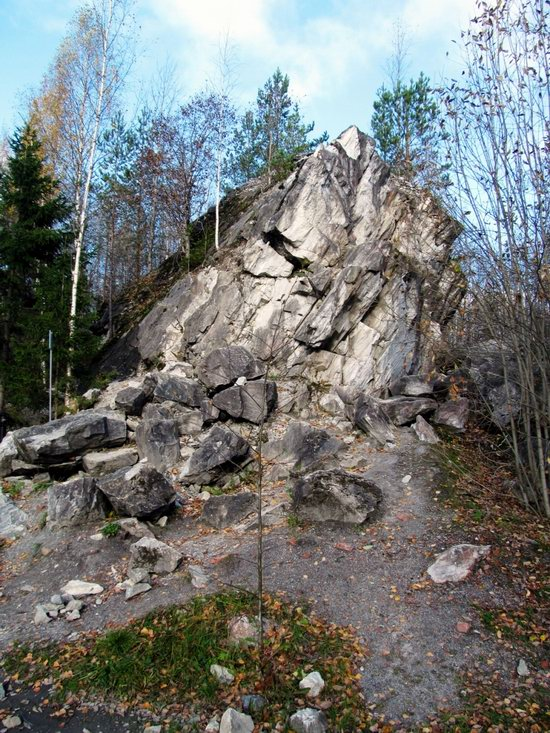 Ruskeala marble quarry, Karelia, Russia, photo 9
