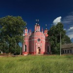Transfiguration Church in Krasnoye village