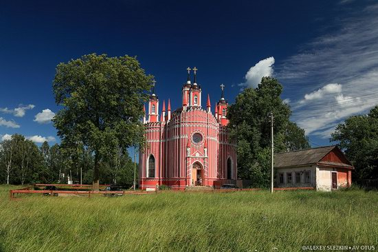 Transfiguration Church, Krasnoye, Tver region, Russia, photo 1