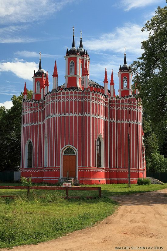 Transfiguration Church, Krasnoye, Tver region, Russia, photo 7