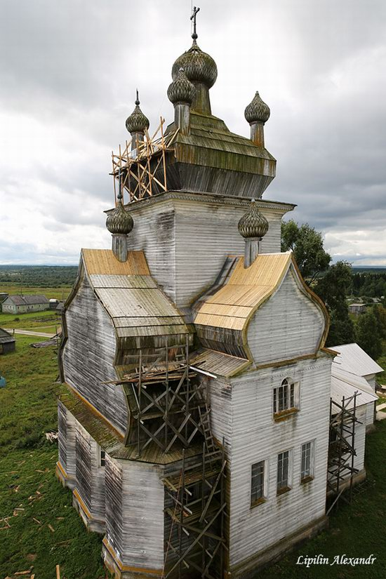 Transfiguration Church in Posad (Turchasovo), Russia, photo 17