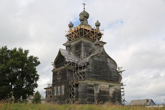 Transfiguration Church in Posad (Turchasovo), Russia, photo 18
