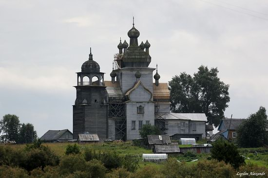 Transfiguration Church in Posad (Turchasovo), Russia, photo 3
