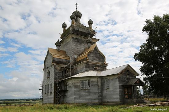 Transfiguration Church in Posad (Turchasovo), Russia, photo 5