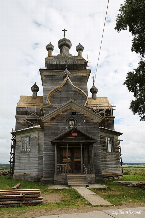 Transfiguration Church in Posad (Turchasovo), Russia, photo 6