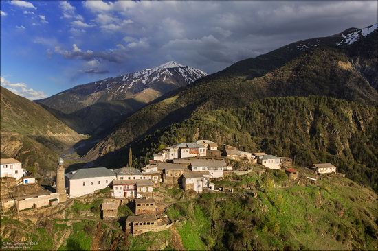 Tsakhur village in Dagestan, Caucasus, Russia, photo 1