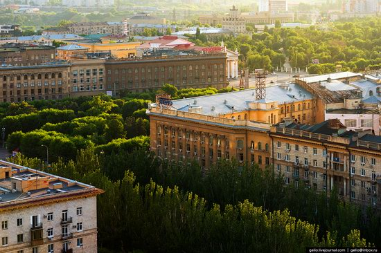 Volgograd from above, Russia, photo 15