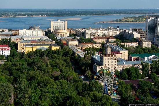 Volgograd from above, Russia, photo 16
