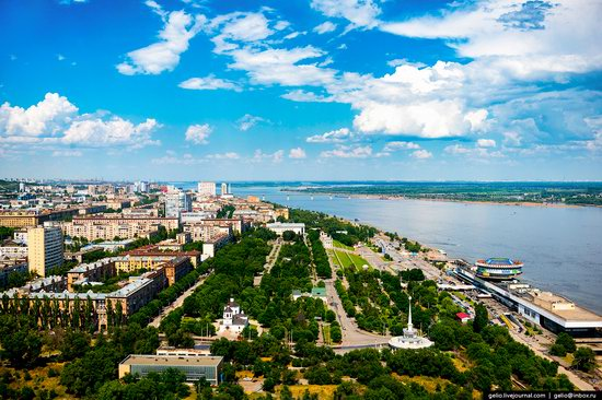 Volgograd from above, Russia, photo 17